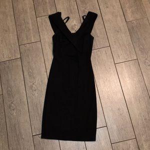 Soprano black bodycon dress